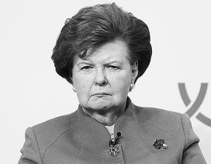Экс-президент Латвии назвала своих соотечественников злыми и завистливыми