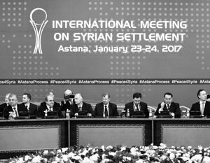 В Астане не удалось провести прямые переговоры Дамаска и оппозиции
