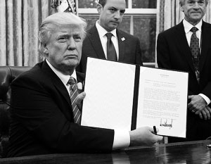 Дональд Трамп сдержал обещание и отказывается от участия в крупнейшей в мире зоне свободной торговли