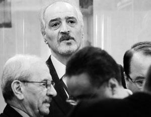 Со стороны Дамаска главным переговорщиком стал посол в ООН Башар Джаафари, дипломат с 40-летним стажем