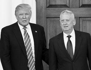 У министра обороны США Джеймса Мэттиса есть 90 дней для того, чтобы предоставить Трампу детальный план по неконкретному предложению «принеси то не знаю что»
