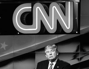 Белый дом отказался посылать своих представителей на программы CNN