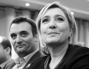Отношения Филиппо с Марин Ле Пен стали практически семейными