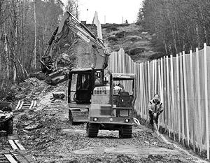 Латвия сообщила об установке 23 км забора на границе с Россией