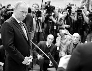 Политика: Россияне предпочитают слушать Путина без посредников