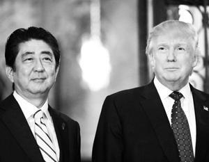 Премьер-министр Синдзо Абэ заявил о понимании Трампом важности диалога России и Японии