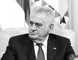 Николич посмертно наградил Чуркина орденом Сербского флага