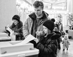 На прошлых президентских выборах открепительными удостоверениями воспользовалось 1,6 миллиона россиян, на следующих ожидаются сразу 5 миллионов