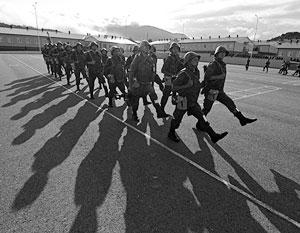 Проект предполагает прохождение югоосетинскими военными службы в составе российской военной базы в Цхинвале