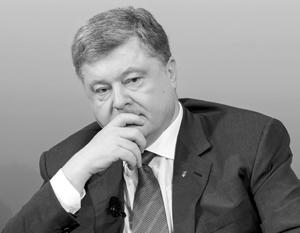 Порошенко заявил об утрате влияния Киева на Донбасс в результате блокады