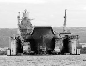 Разработан проект модернизации «Адмирала Кузнецова»
