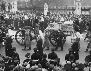 Похороны отца Елизаветы II Георга VI