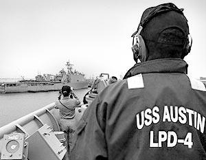 Крупнейший в мире ударный десантный корабль LHA-6 будет построен в США