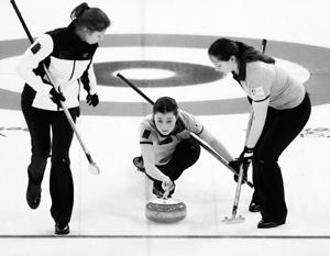 Женская сборная России по керлингу впервые в истории вышла в финал чемпионата мира