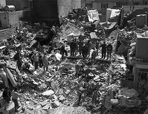 Из-под обрушившегося здания в Мосуле извлекли более 60 тел погибших