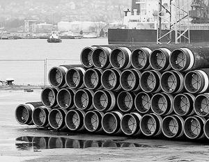 ЕС отказывается от попыток покончить с проектом строительства российского трубопровода