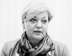 Возле дома главы Нацбанка Украины Валерии Гонтаревой прошла акция протеста