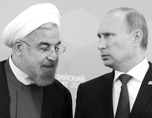 Путин обсудил с президентом Ирана ситуацию в Сирии