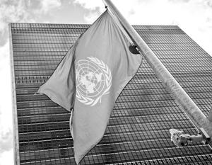 Секретариат ООН отказался давать какую-либо оценку правомочности удара США по авиабазе в Сирии