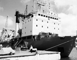 Cудно технической поддержки СС-750 – один из российских кораблей, напугавших Латвию