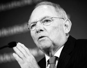 Шойбле подверг критике Обаму за слова о «региональной державе»