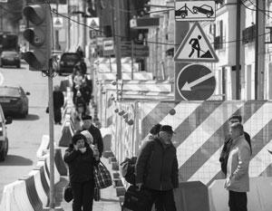 Собянин назвал сроки завершения реконструкции улиц в центре столицы