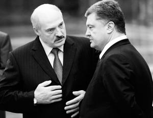лукашенко порошенко мира украины заявил дружбы добавил минск