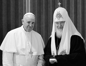 Патриарх и папа договорились о принесении мощей Николая Чудотворца в Россию