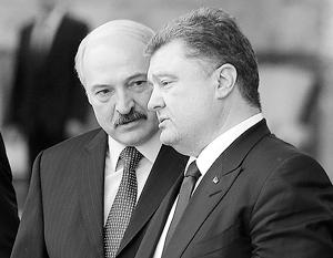 Лукашенко заверил Порошенко в отсутствии у России планов нападать на Украину из Белоруссии