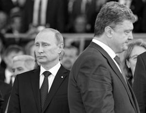 СМИ сообщили о секретном разговоре Путина и Порошенко