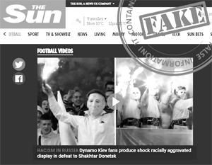 МИД прокомментировал ошибочную публикацию The Sun о «расизме в России»