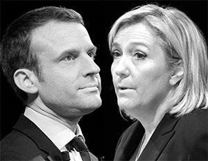 Выбор между «никаким» Макроном и «радикальной» Ле Пен представляется французам крайне сложным