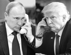 Во вторник состоится четвертый телефонный разговор Путина и Трампа