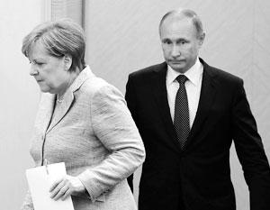 В Сочи прошли переговоры Путина и Меркель