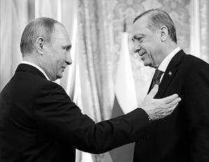 В Сочи состоялись переговоры Владимира Путина и Тайипа Эрдогана