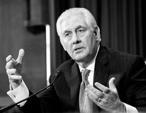 Приоритеты внешней политики США за предыдущие десятилетия оказались «несколько разбалансированными», посетовал госсекретарь Тиллерсон