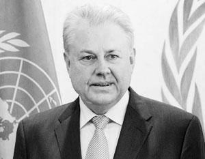 Постпред Украины при ООН Владимир Ельченко работал в МИД СССР и послом в России