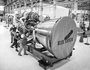 Американские двигатели BE-4, которые должны заменить российские РД-180 на ракетах-носителях «Атлас»