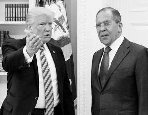 Дональд Трамп приглашает Сергея Лаврова ознакомиться с совершенно секретными разведданными – так теперь трактует встречу 10 мая американская пресса