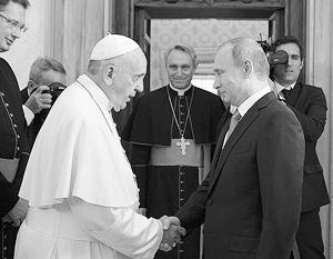 Договоренности на высшем уровне между Ватиканом и Москвой способствуют реализации уникальных проектов