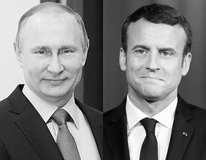 Владимир Путин и Эммануэль Макрон встретятся там же, где три столетия назад встречались Петр Первый и Людовик Пятнадцатый