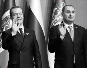 Вице-премьер Грузии объяснил фото рядом с Дмитрием Медведевым