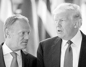 Туск: У ЕС и США нет общей позиции в отношении России