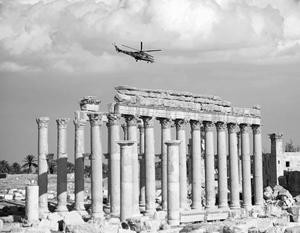 Армия Сирии при помощи ВКС России восстановила контроль над трассой Дамаск – Пальмира