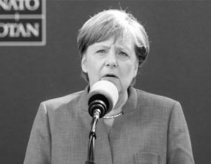 Меркель призвала ЕС рассчитывать только на собственные силы