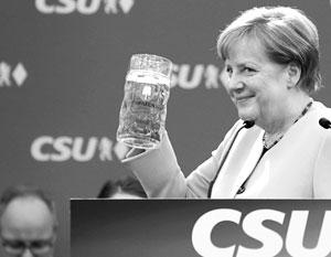 Ангела Меркель на предвыборном митинге в Мюнхене 28 мая 2017 года