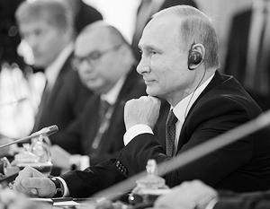 В рамках ПМЭФ Путин провел встречу с руководителями зарубежных информационных агентств