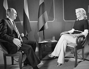 Владимир Путин дал интервью американской журналистке Мегин Келли