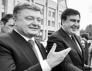 Порошенко: Не знаю, что Саакашвили делает на Украине