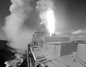 Корабли и подлодка ВМФ запустили «Калибры» по объектам ИГ в Сирии
